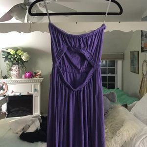 Open Back Chaser Maxi Dress